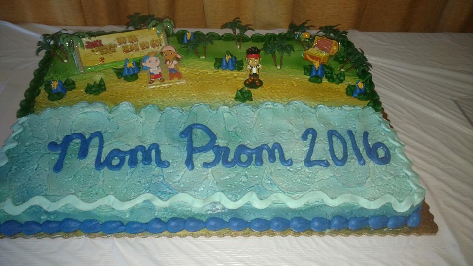 mom prom cake idea